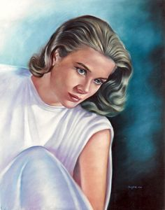 """Grace Kelly, drawing, poster, print, 16""""x20"""" by Eugenes Portraits   First pinned to Celebrity Art board here... http://www.pinterest.com/fairbanksgrafix/celebrity-art/ #Drawing #Art #CelebrityArt"""