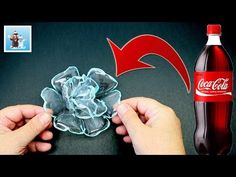 Best out of Waste Ideas How to Make Plastic Bottle Flowers Art and Craft Plastic Bottle Cutter, Empty Plastic Bottles, Plastic Bottle Flowers, Plastic Art, Recycled Bottles, Recycle Plastic Bottles, Diy Recycling, Bottle Cap Art, Bottle Bottle