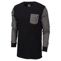 954f6fc6845f Men s Nike Shoebox Long-sleeve Pocket T-shirt