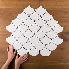 Fireclay Tile | Ogee Drop Tile #recycled #handmade #tiles