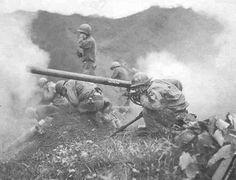 U.N. artillery in Korea. U.S. Department of Defense
