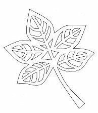 list s výřezy Kirigami, Leaf Template, Flower Template, Autumn Crafts, Autumn Art, Homemade Stencils, Paper Art, Paper Crafts, Applique Templates