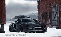 Снегоуборочная машина из Audi R8 V10 [3 ФОТО]