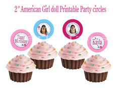 Personalized American girl doll birthday party by ShopPartyTales, $9.95