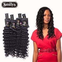 Brazilian Deep Wave Virgin Hair extension Brazilian Hair Bundles 4pcs/lot Curly Virgin Hair Factory Selling 6A Hair Weave