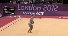 The most impressive ending to a rhythmic gymnastics routine! | 10 Jaw-Dropping Victories Presented By GIFs