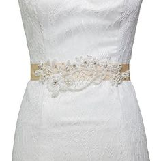 Azaleas Women's Beaded Flower Figure Bridal Sash Belt,Champagne azaleas http://www.amazon.com/dp/B00V63YETS/ref=cm_sw_r_pi_dp_1k.Bvb0XDPZWR