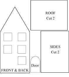 My recipe is here httppinterestpin18436679696193065 house pattern for gingerbread house pronofoot35fo Images