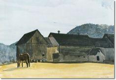 Edward Hopper (1882-1967) Near The Connecticut River, 1927