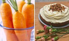 Wir haben das beste Rezept für amerikanischen Carrot Cake: Ein lockerer Teig getoppt mit einem himmlisch-cremigen Frosting.