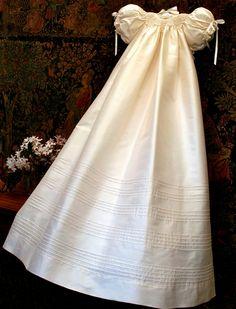 Garland Christening Gown by Isabel Garreton