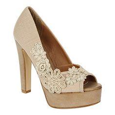 crochet platform shoes - SO CUTE!!