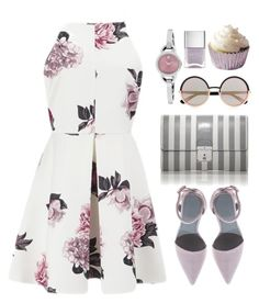 """""""*1182"""" by cutekawaiiandgoodlooking ❤ liked on Polyvore featuring Cameo, Alexander Wang, Marc Jacobs, Marc by Marc Jacobs, Nails Inc., Movado and skaterdress"""