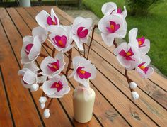 Piękne kwiaty z bibuły!