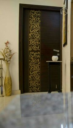 Door Gate Design, Room Door Design, Wooden Door Design, Main Entrance Door Design, Wooden Doors, Entrance Ideas, House Design, Showroom Interior Design, Modern Home Interior Design