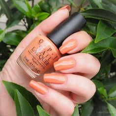 swatch OPI • Freedom of Peach • Washington D.C. Collection fall 2016