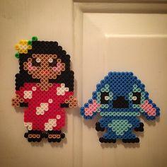 Lilo & Stitch hama perler beads by perlertricks (by HarmonArt2)