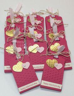Valentine's Day chocolate holder