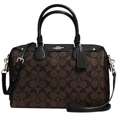 33b00d66b5 Pre-owned Coach Nwt F36187 Bennett In Signature Gold brown black.
