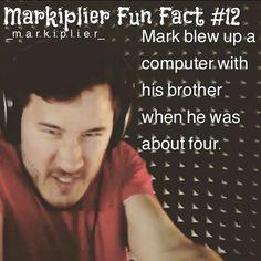 Markiplier fun fact #12
