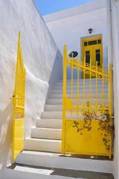 Sifnos Island, Greece Beautiful World, Beautiful Places, Greek Blue, Hotels, Greece Islands, Mellow Yellow, Greece Travel, Doorway, Oh The Places You'll Go