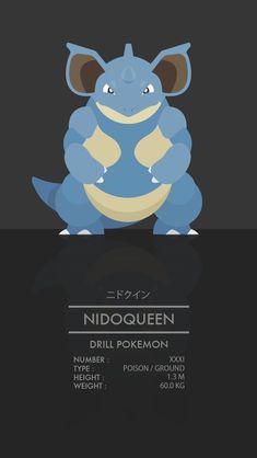 Nidoqueen by WEAPONIX on deviantART