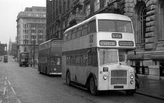 Dale Street, Liverpool, May 1975 Liverpool City Centre, Liverpool Town, Liverpool History, Liverpool England, Double Decker Bus, Bus Coach, Southport, Documentary Photography, The Good Old Days