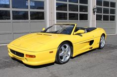 Car brand auctioned:Ferrari 355 Spider 1998 f 355 spider 6 speed gated shifter serviced