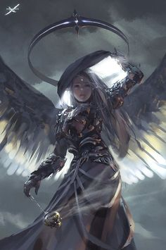 light_by_wlop - Digital Paintings by Wang Ling   <3