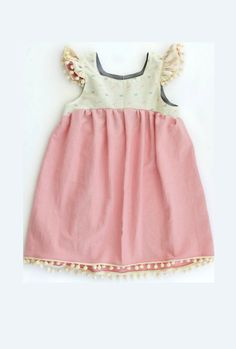cf280d5962c95 Little Girls  Handmade Bohemian Dress