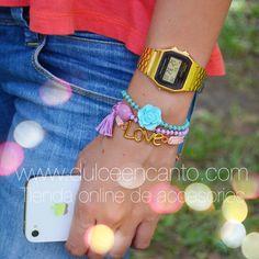 Compra tus accesorios desde la comodidad de tu casa u oficina en www.dulceencanto.com #accesorios #aretes #collares #pulseras #bolsos #bisuteria #colombia #moda #fashion