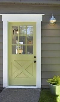 Bonnie Krims Architectural Color Consulting: Exterior Design Colors with the dark brown windows