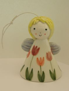 This Ceramic Angel is part of TatjanaCeramics design and is all hand made.  Being handmade each and every item is unique and one of a kind.     It ...