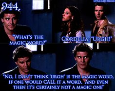 Little Buffy Things Spike Buffy, Buffy The Vampire Slayer, Vincent Kartheiser, Cordelia Chase, Roman, Buffy Summers, Firefly Serenity, Television Program, Magic Words