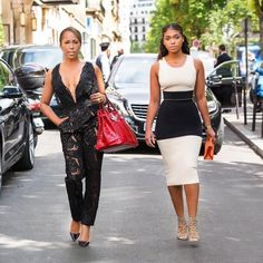 Marjorie and Lori Harvey - Marjorie and Lori Harvey May Be The Chicest Mother-Daughter Duo, Here's Proof | Essence.com