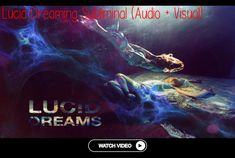 ◢ Using a new set of complex frequency patterns associated to sleep spindles, good sleep and lucid dreaming, this music track is embedded with binaura.