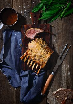 St[v]ory z kuchyne   Lamb Chops with Garlic and Mustard