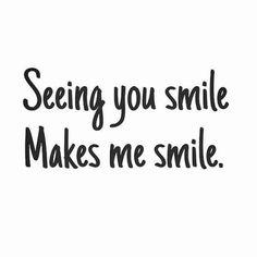 Best Smile Quotes for Her - Smile Quotes For Her Cute Love Quotes, Best Smile Quotes, Famous Love Quotes, Love Quotes For Her, Romantic Love Quotes, You Make Me Smile Quotes, Qoutes About Smile, Love Notes For Him, Happy Quotes For Him