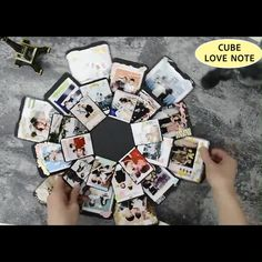 card making videos A greeting card No thanks! Try our Hexagon Love Note if youre looking to send a sweet sentiment just because or celebrate one of lifes little moments, this customizable explosion box will help you do the trick! Explosion Box, Presents For Boyfriend, Boyfriend Gifts, Surprise Boyfriend, Boyfriend Birthday, Valentine Day Cards, Valentine Gifts, Exploding Gift Box, Diy Papier
