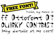 Ottofont on #FontShop
