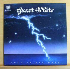 GREAT WHITE Shot in the Dark LP Gimme some lovin  Run away She shakes me Top RAR