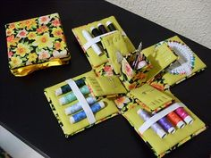 step by step tutorial for this sewing box with tons of pictures