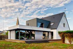 Extension en structure bois - Guidel - Extensions - Atelier 1.1 - Architecte DPLG