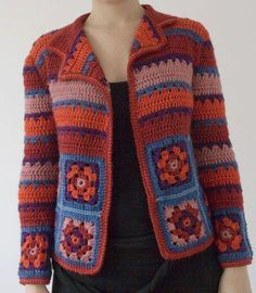 BEY BEĞENDİ ÖRNEĞİ (GRANNY SQUARE) – Örgüpedi France is an independent nation in Western Europe and the biggest market of a large overseas administration. Gilet Crochet, Crochet Cardigan Pattern, Granny Square Crochet Pattern, Crochet Jacket, Crochet Blouse, Crochet Poncho, Crochet Granny, Irish Crochet, Cotton Crochet