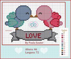 http://delicadocantinho.blogspot.com.br/2015/09/grafico-ponto-cruz-passaros-love.html