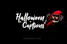 Halloween-Captions Halloween Captions, Funny Halloween Memes, Halloween Costumes Women Creative, Amazing Halloween Makeup, Halloween Songs, Halloween Quotes, Creative Halloween Costumes, Halloween Party Decor, Scary Halloween