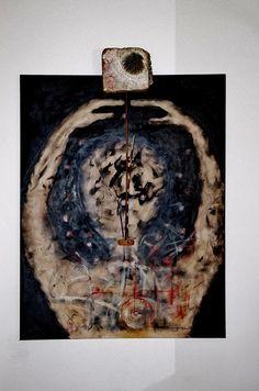 """"""" Tai """" + """" Pêndulo """"  Acrílico sobre tela canvas  40 x 70 Autor. @gumartes 2011  Ref: 390"""