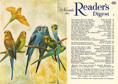 Readers Digest, Vintage Pictures, Cover Art, Illustration, November, Tampa Florida, Vintage Art, Theater, Studios
