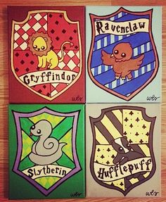 For Memorial Day 2013's Crafts Faire, Whitney Lynn Art will be helping us stay true to the Harry Potter legacy with great pieces such this!