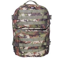 MFH US Rucksack, Assault II, vegetato / mehr Infos auf: www.Guntia-Militaria-Shop.de